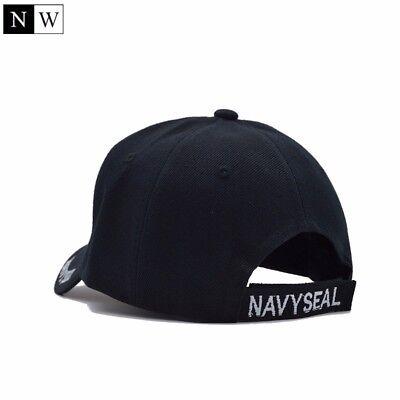 9649914bf8cfc ... Casquette Baseball Army Us Navy Seal Marines En Noir Réglable Haute  Qualité 5
