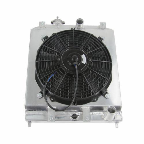 2 Reihe Aluminium Wasser Kühler für 1992-2000 Honda Civic EK EG DEL SOL 1993 5