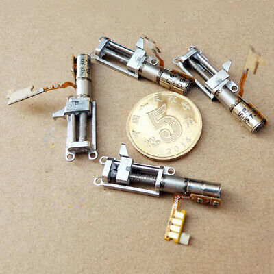 4MM Planetary Gear Stepper Motor 2-Phase 4-Wire Mini Full Metal Gearbox & Slider 9