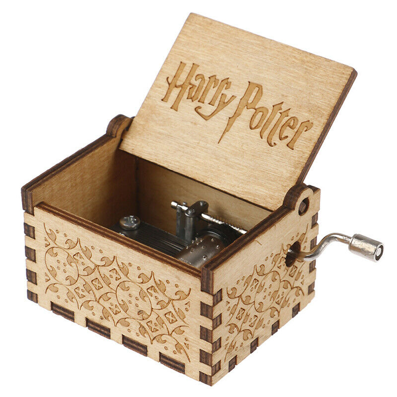 Harry Potter Game Of Thrones Game Box Wood Game Clock Music Box Gift 5