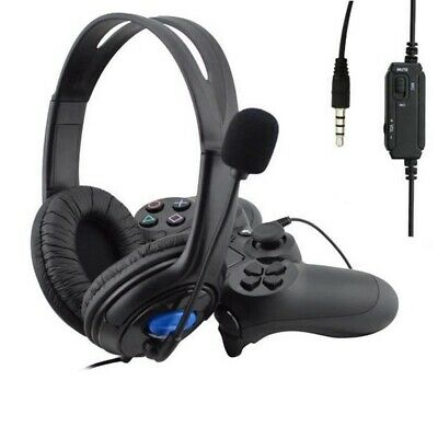Wired Stereo Bass Surround Gaming Headset for PS4 New Xbox One PC with Mic 3