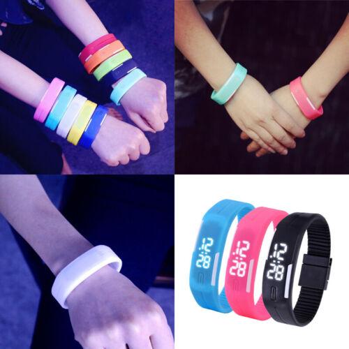 Multifunction LED Sport Electronic Digital Wrist Watch For Child Boys Girls Kids 11