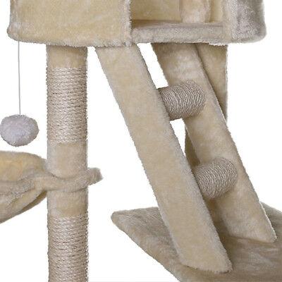 Eck-Kratzbaum Katzenkratzbäume Katzenbaum Kletterbaum Spielbaum Sisal Deckenhoch 8