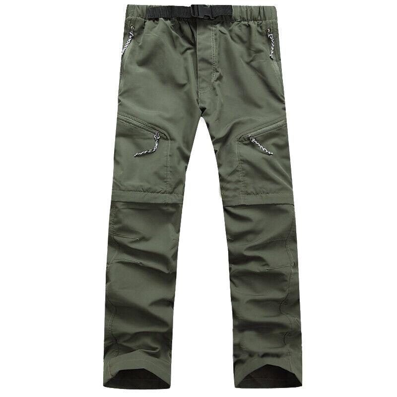 Men Tactical Trousers Waterproof Hiking Climbing Sport Combat Cargo Work Pants 11