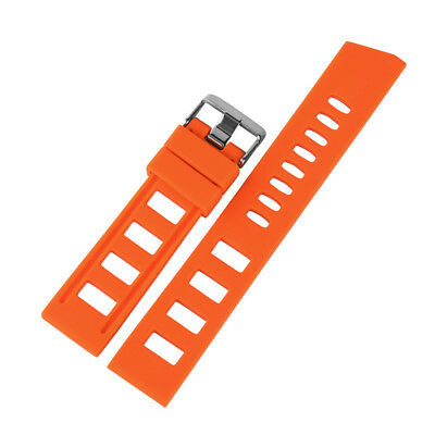20/22mm Silicone Rubber Watch Band Strap Replacement Bracelet Spring Bars 11