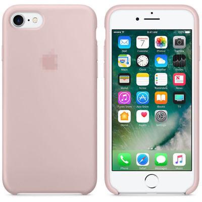 Original Ultra Suave Funda de silicona Funda para Apple iPhone 8 7 6 6s Plus ES 10
