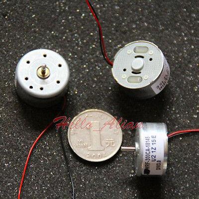 DC 1.5V-6V 3V 6V Micro 300 Solar Motor Small Micro Round Motor for Fan CD Player