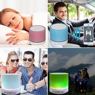 Mini Bluetooth Lautsprecher LED MP3 FM Radio Musik Box Speaker Handy Tablet TF