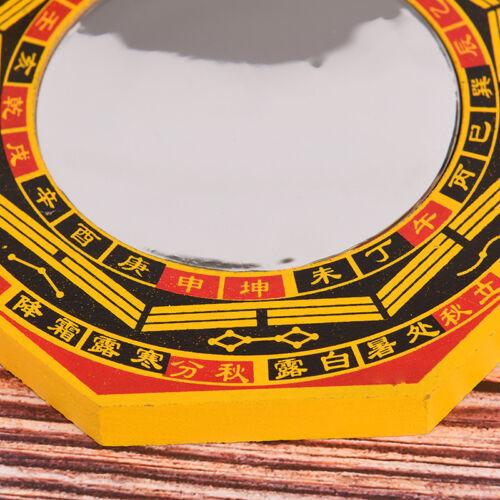 """6 /""""Zoll Chinese Dent Convex Bagua Spiegel Segen Hausschutz Feng Shui FWR"""