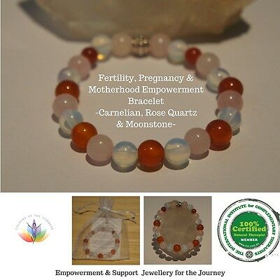 Fertility, Hormones, PCOS,IVF, IUI, Pregnancy Protection Support Bracelet