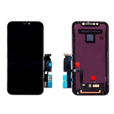 AAA For iphone XR LCD Touch Screen Replacement Digitizer Assembly Display Black 9