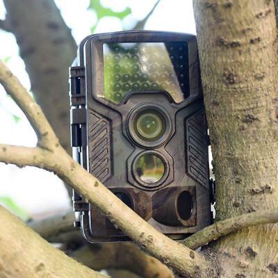 1080P Hd Fototrappola Mimetica Caccia Videocamera Tr Visione Notturna Ip56 5