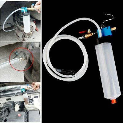 【AU】 Air Brake Bleeder Kit Clutch Vacuum Bleeding Extractor Fluid Fill Adapters 5