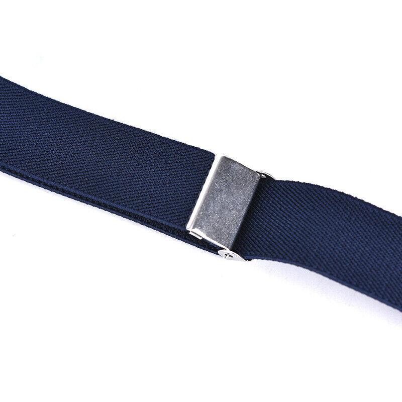 Children Solid Color Unisex Canvas Belts Boys Girls Elastic Belt Adjustable MC 10