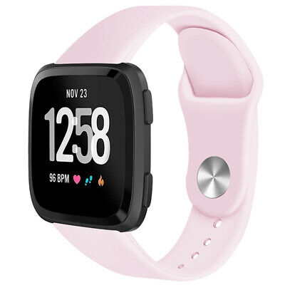 For Fitbit Versa Smartwatch Soft Silicone Replacement Sports Classic Band Strap 5