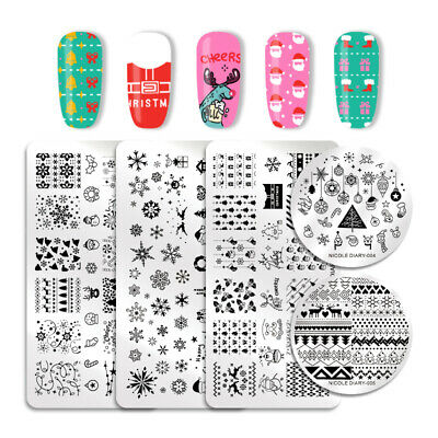 121 Patterns NICOLE DIARY Nail Stamping Plates Stainless Steel Nail Art Tool 2
