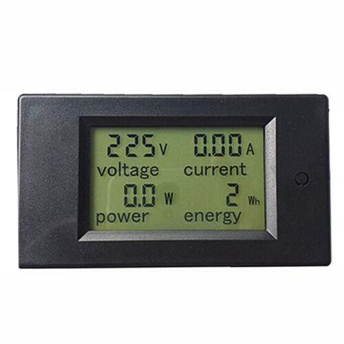 AC 80-260V LCD Digital 20A Volt Watt Power Meter Ammeter Voltmeter