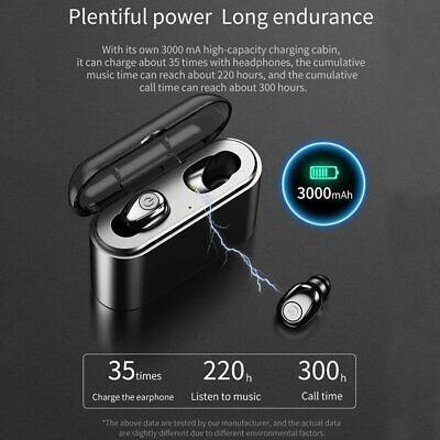 Waterproof Bluetooth 5.0 Earbuds Headphones Wireless Headset Noise Cancelling 6