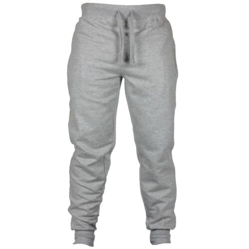 aafd89458 Men's Skinny Sweatpants Leg Tapered Harem Sport Joggers Gym Tracksuit Slim  Fit 3 3 of 6 ...