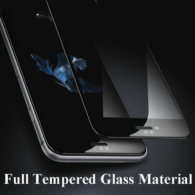 3D iPhone glass 9H  iPhone 6/7/8/X Schutzhülle curved 4D/5D* Glas