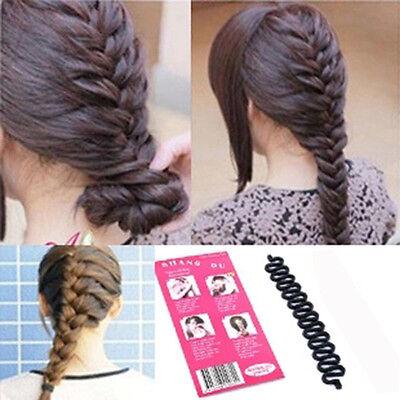 New Hair Styling clip bâton Bun Maker Braid Outil Accessoires cheveux 3