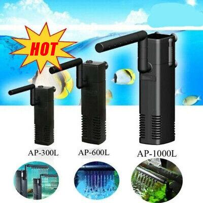 1500L Hidom Aquarium Pump Spray Bar Fish Tank Filter Filtration Submersible 6
