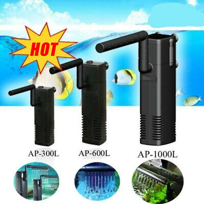 300-1500L Hidom Aquarium Pump Spray Bar Fish Tank Filter Filtration Submersible 6