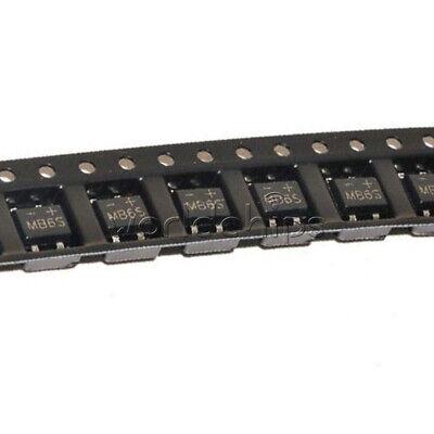50Pcs MB6S 0.5A 600V Miniature Mini SMD Bridge Rectifier 7