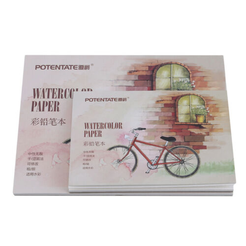 Sketchbook Stationery Watercolor Paper Sketch Notepad For Painting Supplies BS 12