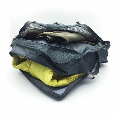 5pcs Packing Cube Pouch Suitcase Clothes Storage Travel Bags Luggage Organiser 6