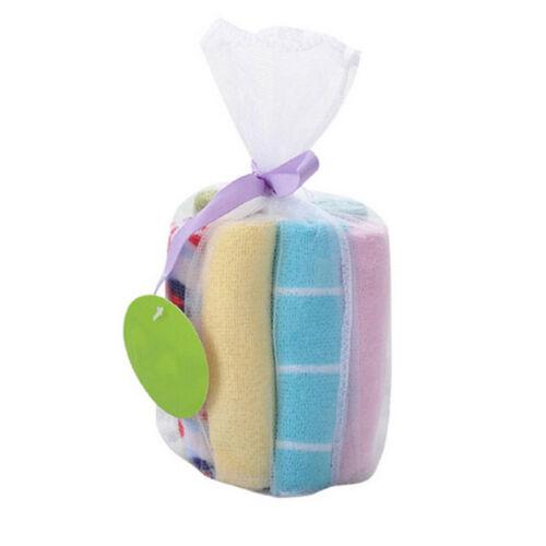 Baby Feeding Cloth Kids Bath Towel Washcloth Bathing Feeding Wipe Soft Cloth 8PC 4