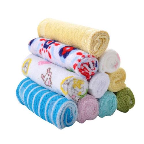 Baby Feeding Cloth Kids Bath Towel Washcloth Bathing Feeding Wipe Soft Cloth 8PC 2