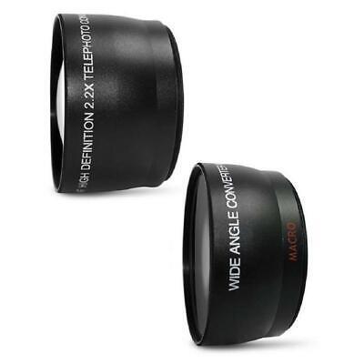 Canon EOS Rebel T7 24.1MP DSLR Camera + 18-55mm + 75-300mm Lens Accessory Bundle 5