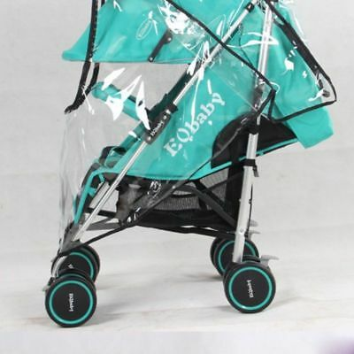 Universal Pushchair Buggy Rain Cover Baby Transparent Stroller Pram Wind Shield 4