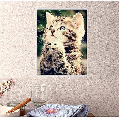 Naughty Kitten Cat Diamond Embroidery 5d Diamond DIY Painting Cross Stitch KIT 2