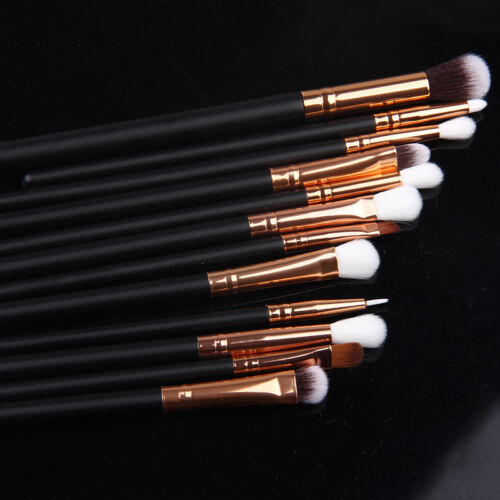 12pcs Makeup Cosmetic Brushes Set Powder Foundation Eyeshadow Lip Brush Tool Kit