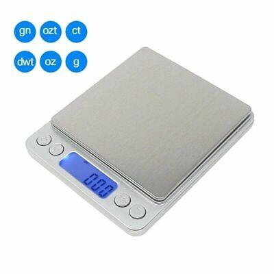 Portable 3000g x 0.01g Mini Digital Scale Jewelry Pocket Balance Weight Gram LCD 2