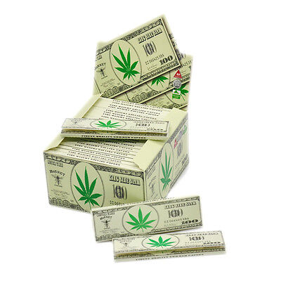 50 x Hornet Dollar King Size 110*54MM Rolling Papers 32 Leaves a Booklet 4