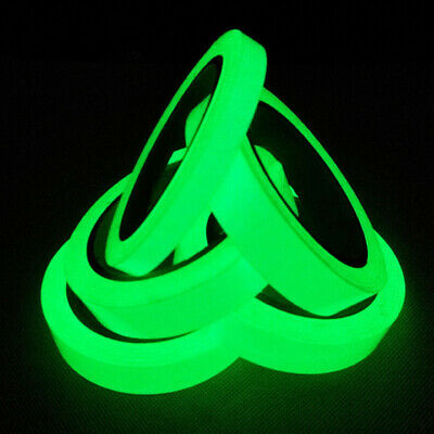 Luminous Tape Self-adhesive Glow In The Dark Safety Stage Sticker Home Decor TB 3