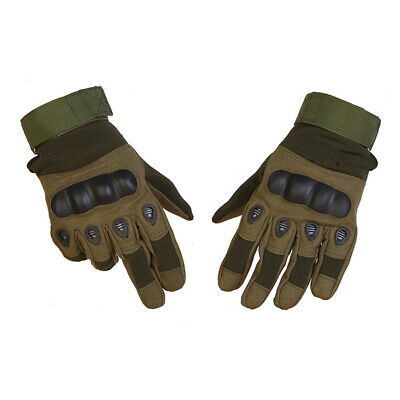Full Finger Military Hard Knuckle Tactical Motorcycle ATV Hunting Combat Gloves 3