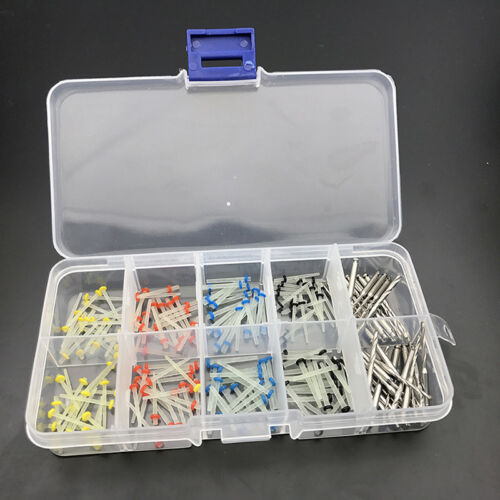 160× Dental Glass Fiber Post Single Refilled Package Free + 32 Pcs Drills S A8F1 2