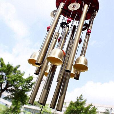 Large Multi-Tubes Windchime Chapel Bells Wind Chimes Door Hanging Home Decor 10