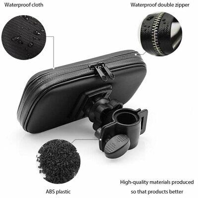 360° Bicycle Motor Bike Waterproof Phone Case Mount Holder For All Mobile Phones 5