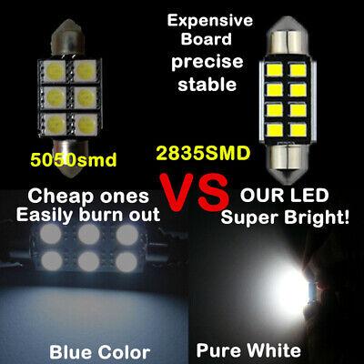 VW Touran 1T1 1T2 264 42mm White Interior Courtesy Bulb LED Light Upgrade