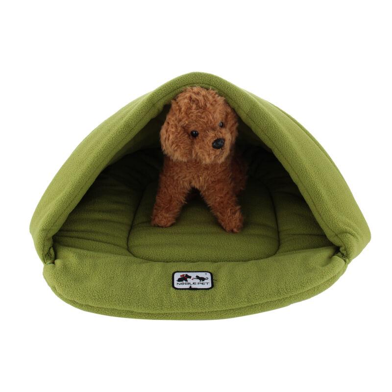 Pet Cat Dog Nest Bed Puppy Soft Warm Cave House Winter Sleeping Bag Mat Pad 7
