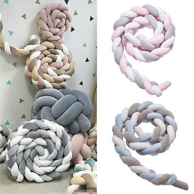 3-4M Nestchen Kopfschutz Knotenkissen Bettschlange Baby Farbe Babynestchen 3