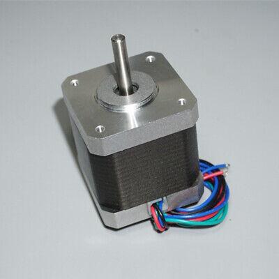 42mm 1.8 Degree Hybrid Stepper Motor Nema17 Shaft for 5mm RepRap CNC 3D Printer 7