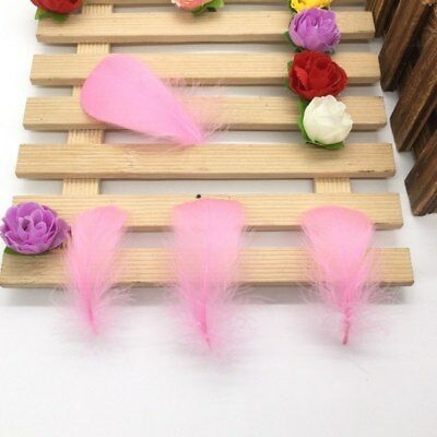 100 Pcs/Lot Natural 4-7cm/1-2 Inch Small Floating Goose Feather for Diy Carnival 6