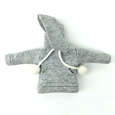 """Gray Sweatshirt Coat For 11.5"""" Doll Clothes Outfits Pants Canvas Shoes 1/6 Toy 8"""