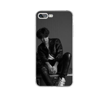 KPOP Bangtan Boys Soft TPU Phone Case Cover For iPhone X 6 6s 6 7 8 Plus 9